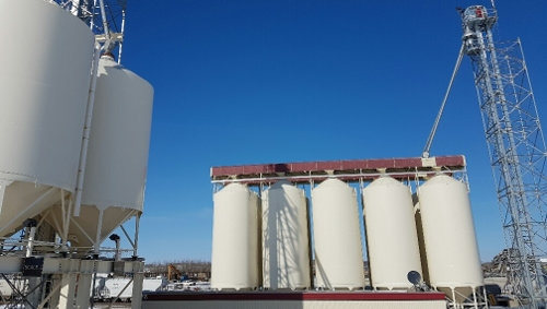 Frac Sand Silo Feed Conveyor Systems