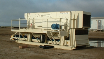 Skid Mounted Screen Plant