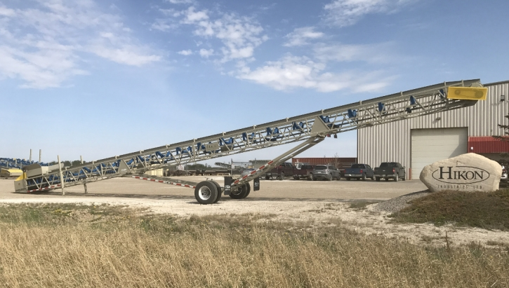4275 Radial Stacking Conveyor